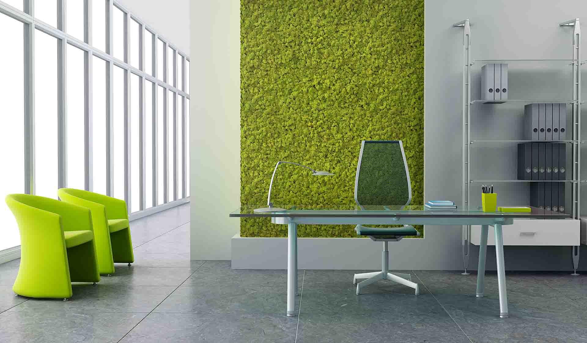 Spring green muschio naturale