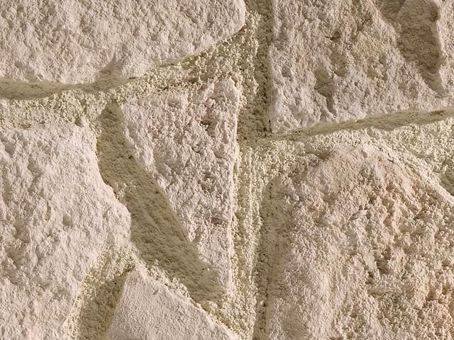 Cuenca blanco cuenca pannelli effetto pietra