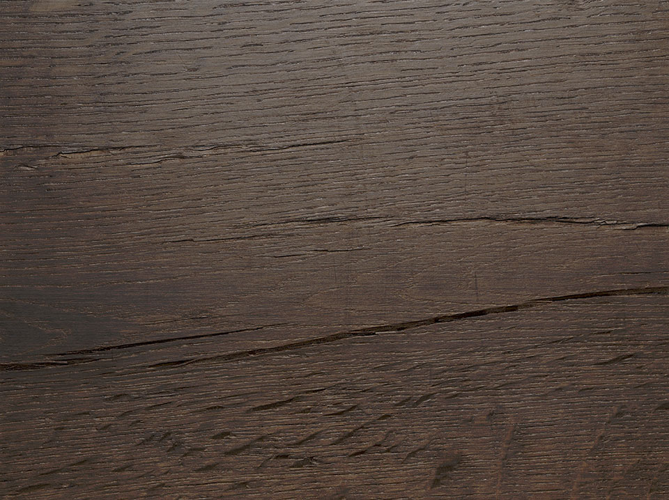 Classic smoked oak wood legno naturale